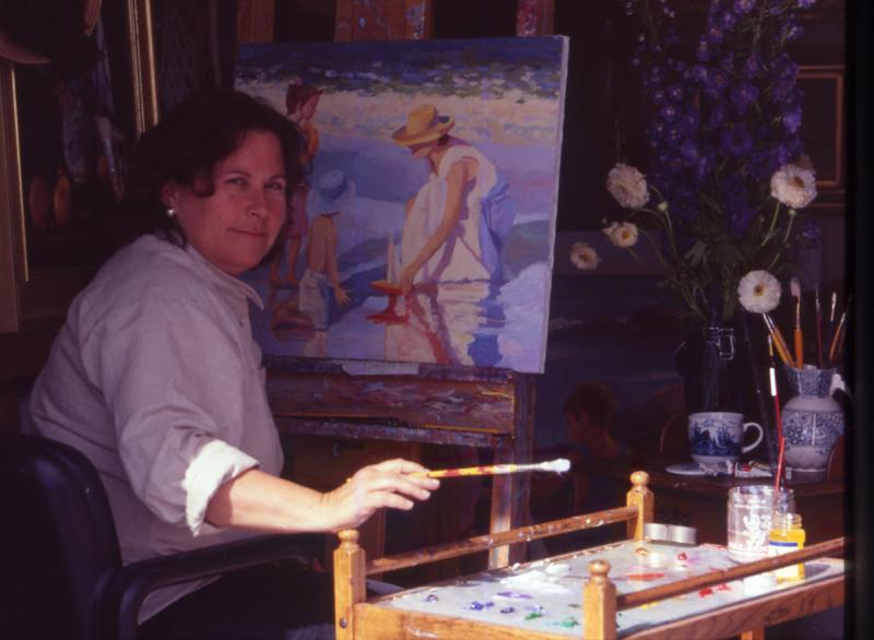 Artist Cathy Hatfield