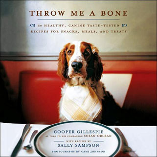Cooper Gillespie, author of Throw Me A Bone